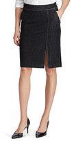 Lauren Ralph Lauren Petite Denim Pencil Skirt