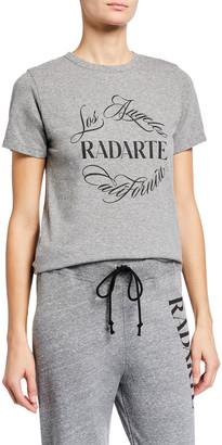 Rodarte Radarte Font Crewneck T-Shirt