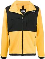 The North Face logo contrast zipped sweater