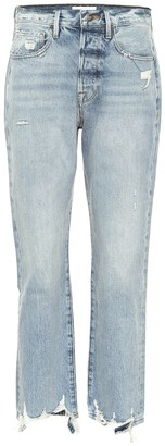 Frame Le Original high-rise straight jeans