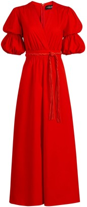 New York & Co. Belted Surplice Maxi Dress - Gabrielle Union Collection
