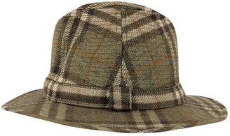 Burberry Green Wool Hats & pull on hats