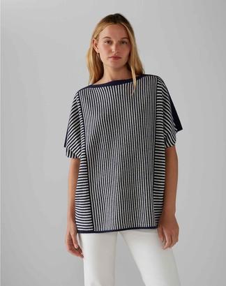 Club Monaco Multi-Stitch Cashmere Egg Sweater