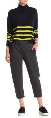 UNIONBAY Sharon Skater Belted High Waist Crop Pants