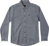 RVCA Men's Service Long Sleeve Woven Shirt