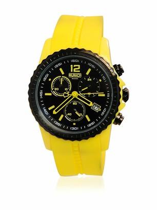 Munich Unisex Adult Analogue Quartz Watch with Silicone Strap MU+101.9A