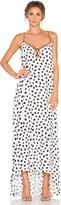 Line & Dot Jacqueline Dot Maxi Dress