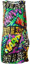 Moschino happy print dress - women - Silk - 44