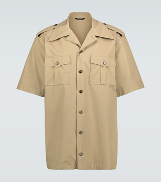 Dolce & Gabbana Short-sleeved safari shirt