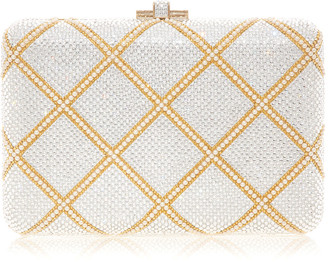 Judith Leiber Slim Slide Clutch Bag