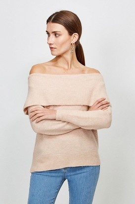 Karen Millen Super Soft And Cosy Bardot Jumper