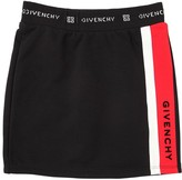 Givenchy COTTON SWEAT SKIRT W/LOGO DETAILS