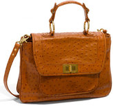 'Covet' Ostrich Embossed Satchel