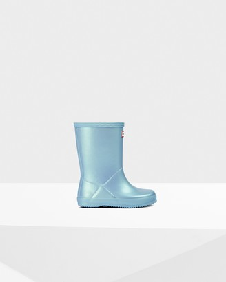 Hunter Original Kids First Classic Nebula Wellington Boots