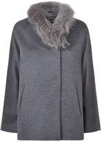 Cinzia Rocca Fur Collar Jacket
