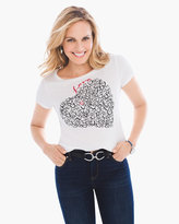 Chico's Heart Graphic Tee
