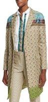 Etro Vintage Ombre Tapestry Jacket, Beige
