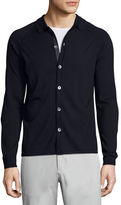 Theory Berner New Sovereign Collared Cardigan