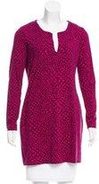 Diane von Furstenberg Reina Abstract Print Tunic