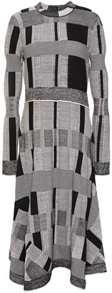 Proenza Schouler Jacquard-knit Midi Dress