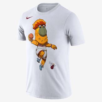 Nike Men's Dri-FIT NBA T-Shirt Miami Heat Mascot