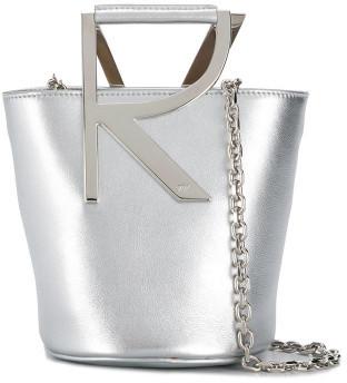 Roger Vivier Leather Bucket Bag