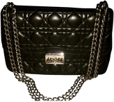 Christian Dior Black Leather Handbag Miss