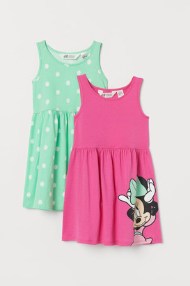 H&M 2-Pack Printed Dresses