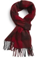 Nordstrom Men's 'New Buffalo' Cashmere Scarf
