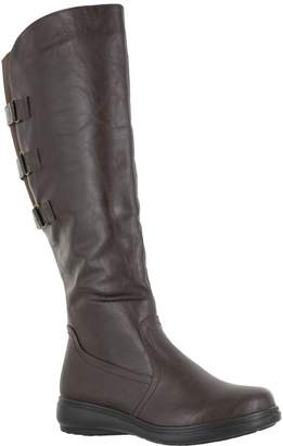 Easy Street Shoes Three-Strap Accented Tall Boots - Presley