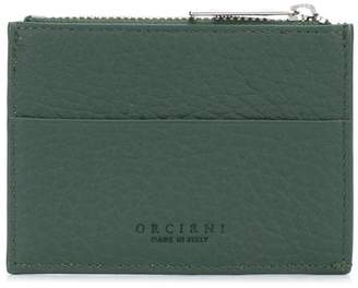 Orciani leather card holder