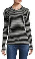 Max Mara Striped Pullover Long Sleeve T-Shirt
