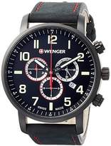 Wenger watch 10 ATM water resistant Military chronograph Attitude Chrono 01.1543.104 Men's [regular imported goods]