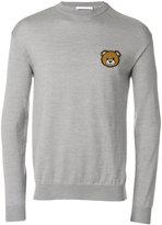 Moschino Teddy Bear jumper - men - Virgin Wool - 44