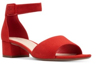 Clarks Collection Women's Elisa Dedra Dress Sandals Women's Shoes