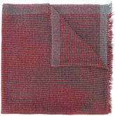 Brunello Cucinelli houndstooth scarf - men - Silk/Cashmere - One Size