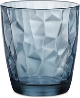 Bormioli Diamond 6-Pc. Double Old Fashioned Glass Set