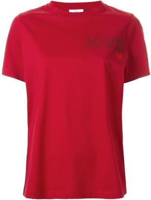 CK Calvin Klein logo slogan print T-shirt