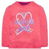 Mothercare Baby Girls' Little Marine Longsleeve T-Shirt,(Manufacturer Size: 86 cm)