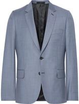 Paul Smith Blue Soho Slim-Fit Wool-Twill Suit Jacket