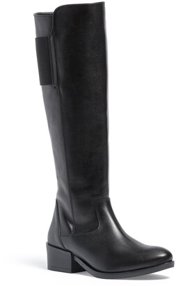 Italian Shoemakers Annie Leather Knee High Boot