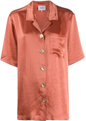 Nanushka Ella oversized camp shirt