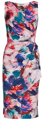 Chiara Boni Charisse Floral Sheath Dress