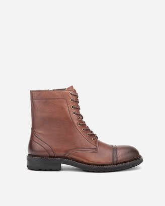 Express Vintage Foundry Co. Felimone Lace-Up Boots