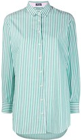 MC2 Saint Barth embroidered striped shirt