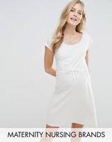 Mama Licious Mama.licious Mamalicious Maternity Nursing Sweat Dress