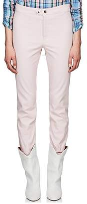 Isabel Marant Women's Nila Cotton-Blend Crop Flared Pants - Pink