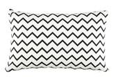 Nobodinoz Cotton Rectangular Cushion - Zig Zag Pattern