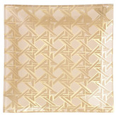 kate spade by lenox Glass Gold Caning Haven Street Square Tray