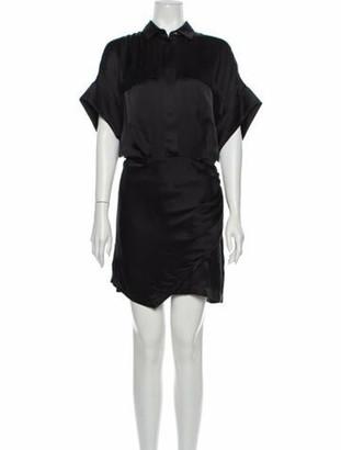 IRO Silk Mini Dress w/ Tags Black